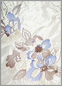 Машинная вышивка на постельном белье